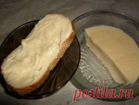 Домашний сыр из творога.