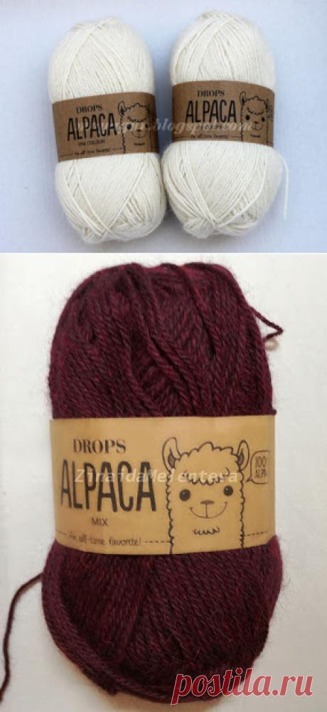 Вяжем вместе: Drops «Alpaca»