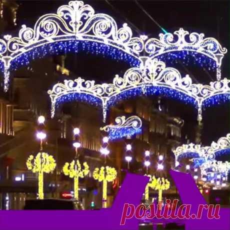 Новогодняя сказка. Невский проспект и главная ёлка Санкт-Петербурга