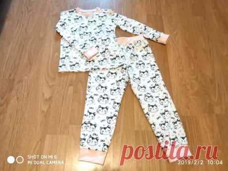 Как сшить детскую пижаму (Шитье и крой) – Журнал Вдохновение Рукодельницы