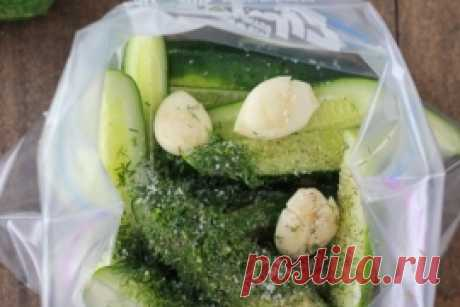 PICKLES WITH GARLIC AND FENNEL