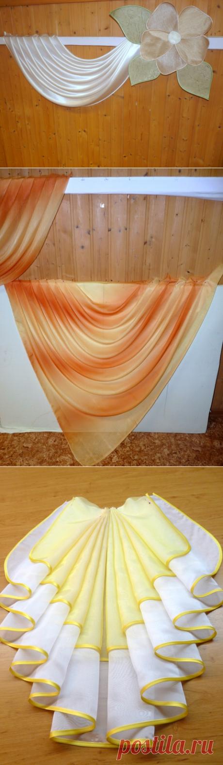 Как проутюжить складки на ламбрекене — img 2