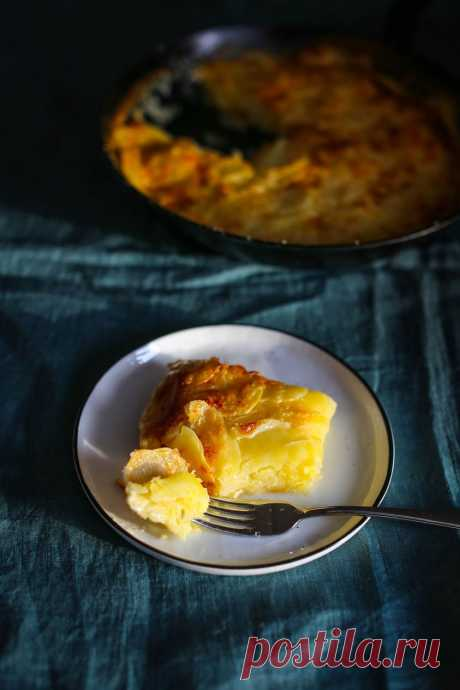 Картофельный гратен      Кулинарная Школа Пракукинг