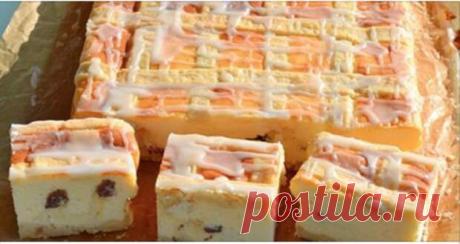 Нежный краковский сырник. Любители творожной выпечки оценят его по достоинству!
