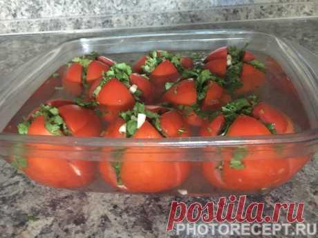 Армянчики - маринованные помидоры - рецепт с фото пошагово