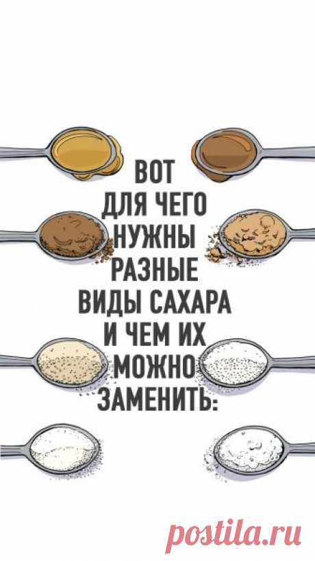 Вот для чего нужны разные виды сахара и чем их можно заменить - Lifter