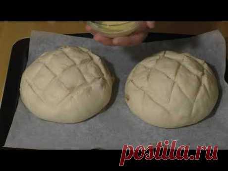 Замечательный домашний хлеб в духовке / Домашняя выпечка - простые рецепты
