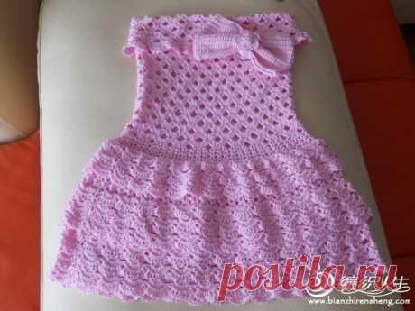 Детское платье Super baby