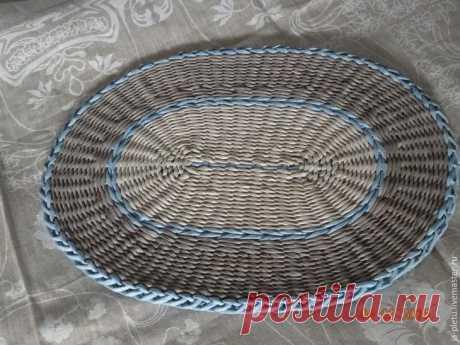 Плетение сервировочных ковриков
