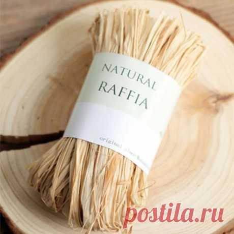 Что такое рафия и что из неё можно сделать? — Мастер-классы на BurdaStyle.ru