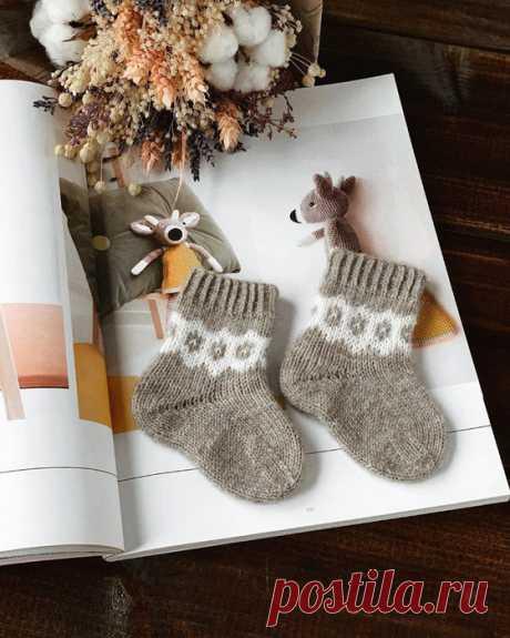 Носки для крошки от viajeuvie