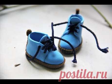 Кукольная обувь без выкройки. Самый простой способ!