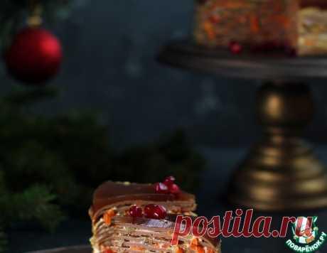 Печеночный торт с грантовым желе – кулинарный рецепт