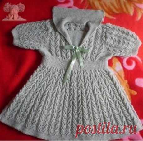 Красивенькое платье для малышки