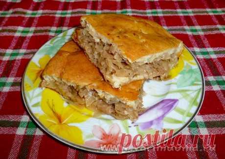 Заливной капустный пирог на кефире с майонезом | Готовим дома!Готовим дома!