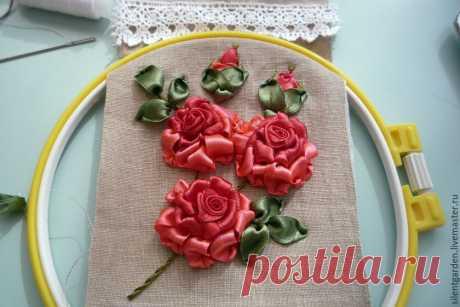 Создаем текстильный очечник с вышивкой - Ярмарка Мастеров - ручная работа, handmade