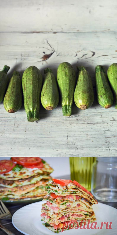 4 изумительных рецепта из кабачков