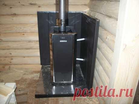 Защита деревянной стены от жара печи | Дом и баня из бруса | Яндекс Дзен
