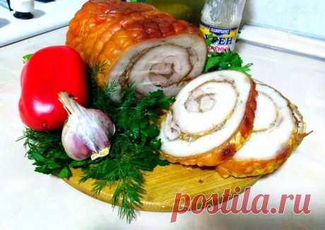 (14) Рулет из пузанины - пошаговый рецепт с фото. Автор рецепта Marina Karimova🏃♂️ . - Cookpad