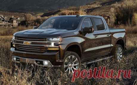 Новый пикап Chevrolet Silverado 4 поколения - цена, фото, технические характеристики, авто новинки 2018-2019 года