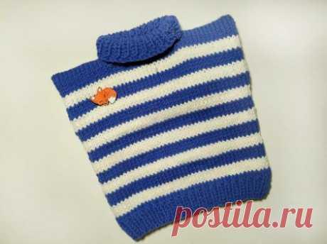 Вяжем теплую жилетку, чтобы ребенок не простыл » «Хомяк55» - всё о вязании спицами и крючком