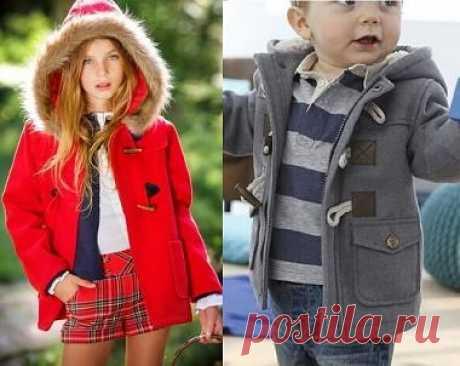 Выкройка детской куртки на возраст от 1 до 14 лет (Шитье и крой)