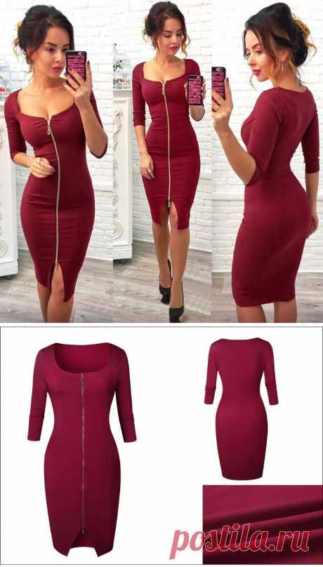 Сексуальное облегающее платье для свиданий - 450 рублей!