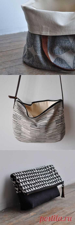 Небольшой штрих / Сумки, клатчи, чемоданы / Модный сайт о стильной переделке одежды и интерьера
