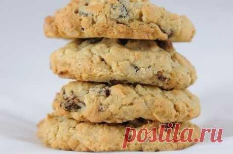 Диетическое печенье из овсянки: — Мегаздоров