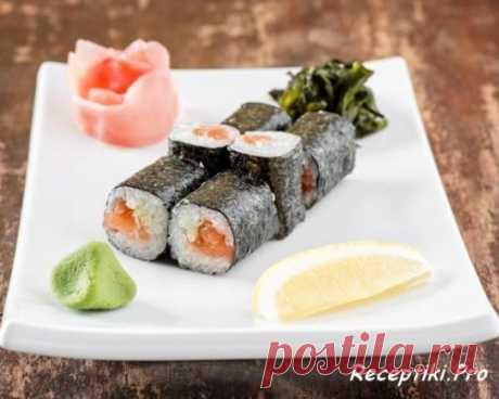 Японская кухня - Роллы Унаги Маки - быстро, вкусно и просто
