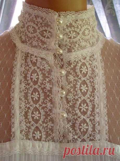 Красивые и очень нежные блузы — Красота и мода