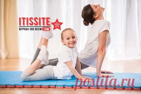 Гимнастика для детей с 4-х лет Itissite.com