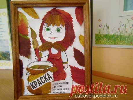 Картинки с осенними поделками для детского сада (35 фото) ⭐ Забавник