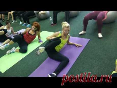 3 упражнения по 8 минут-УБЬЕМ ПОПу и БЕДРа +8 мин ВЕРХ ТЕЛА