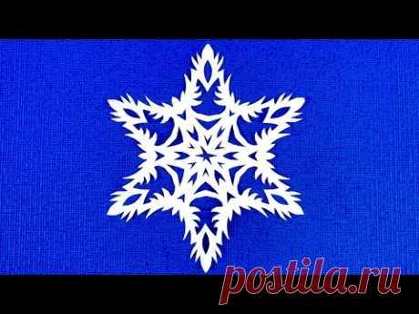 DIY. Снежинка для Родных и Близких на Новый Год. Красивая снежинка. SNOWFLAKE.#Снежинки #Snowflakes