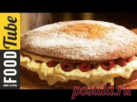 Super Simple Sponge Cake   Jamie Oliver