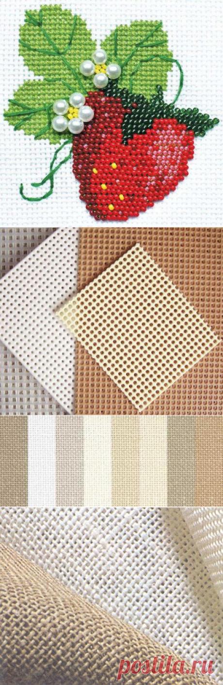 Канва для вышивания бисером, её разновидности и особенности