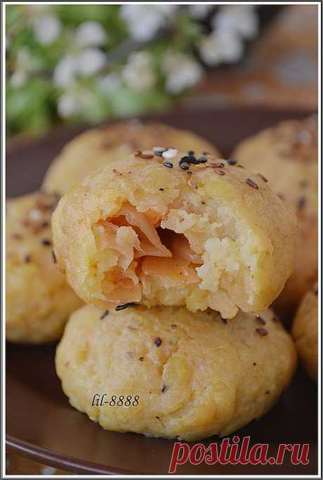 POTATO FAST PIES WITH CABBAGE - THE RECIPE.