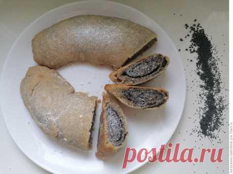 Постный пирог с маком по-монастырски, на приготовление и минут 40-50