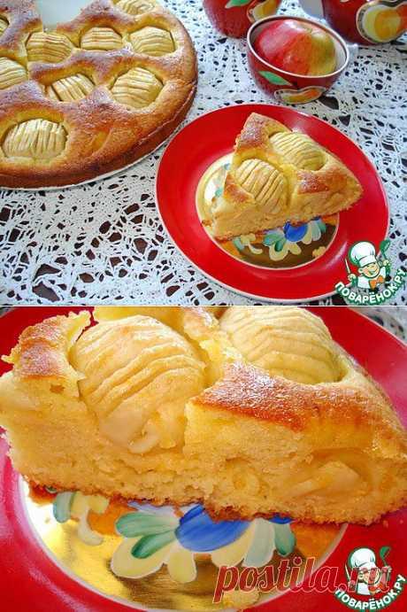 """Пирог с яблоками """"Восхитительный-2"""" Автор: Janecheh"""