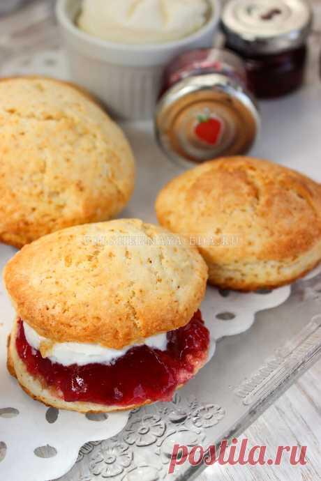 Британские булочки сконы | Волшебная Eда.ру