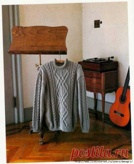 Шикарный пуловер.