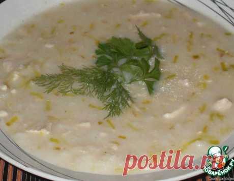 Английский куриный суп с сыром – кулинарный рецепт