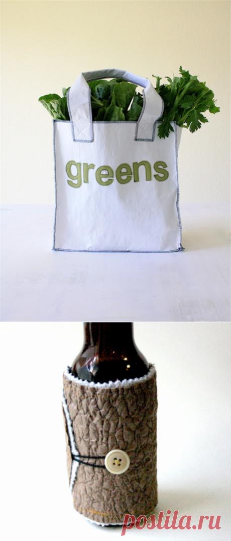 Супер ткань из пластиковых пакетов. Мастер-класс.