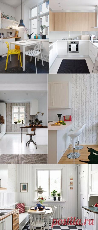 Кухни с низким потолком: 15 хитростей дизайна