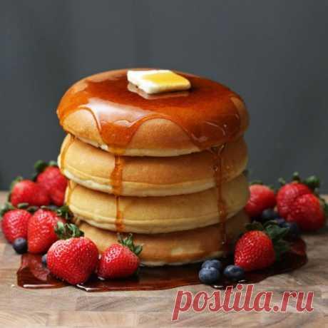 👌 Пышные блинчики для завтрака, рецепты с фото