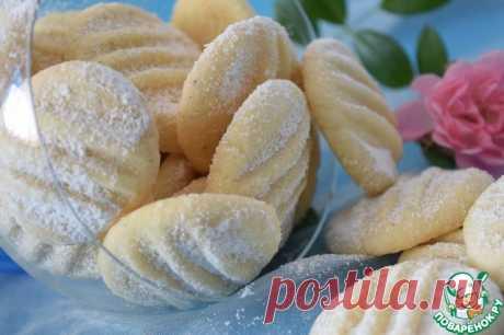 """Печенье """"Снежинки"""" - очень нежные и рассыпчатые печеньки - ммммм... одно удовольствие!"""