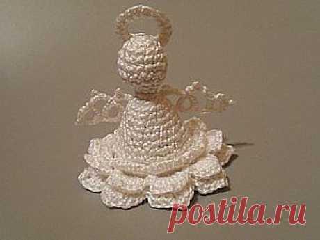 Новогодний ангел - Ярмарка Мастеров - ручная работа, handmade