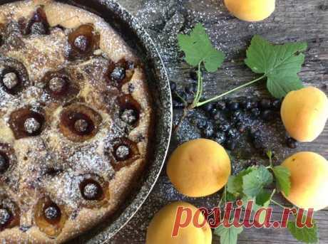 (1) Ираида Полухина - Очень простой пирог со сливами ( этот у меня с...
