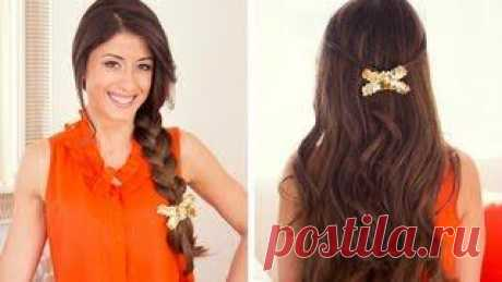 Video lessons: excellent summer hairdresses